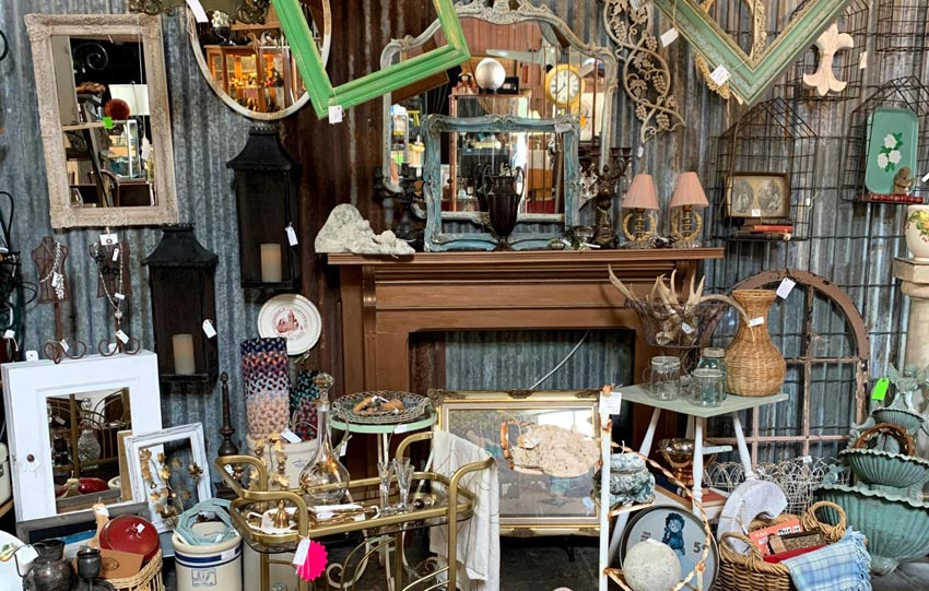 Healdsburg Antique Stores – Vintage Treasures & Upcycle Chic