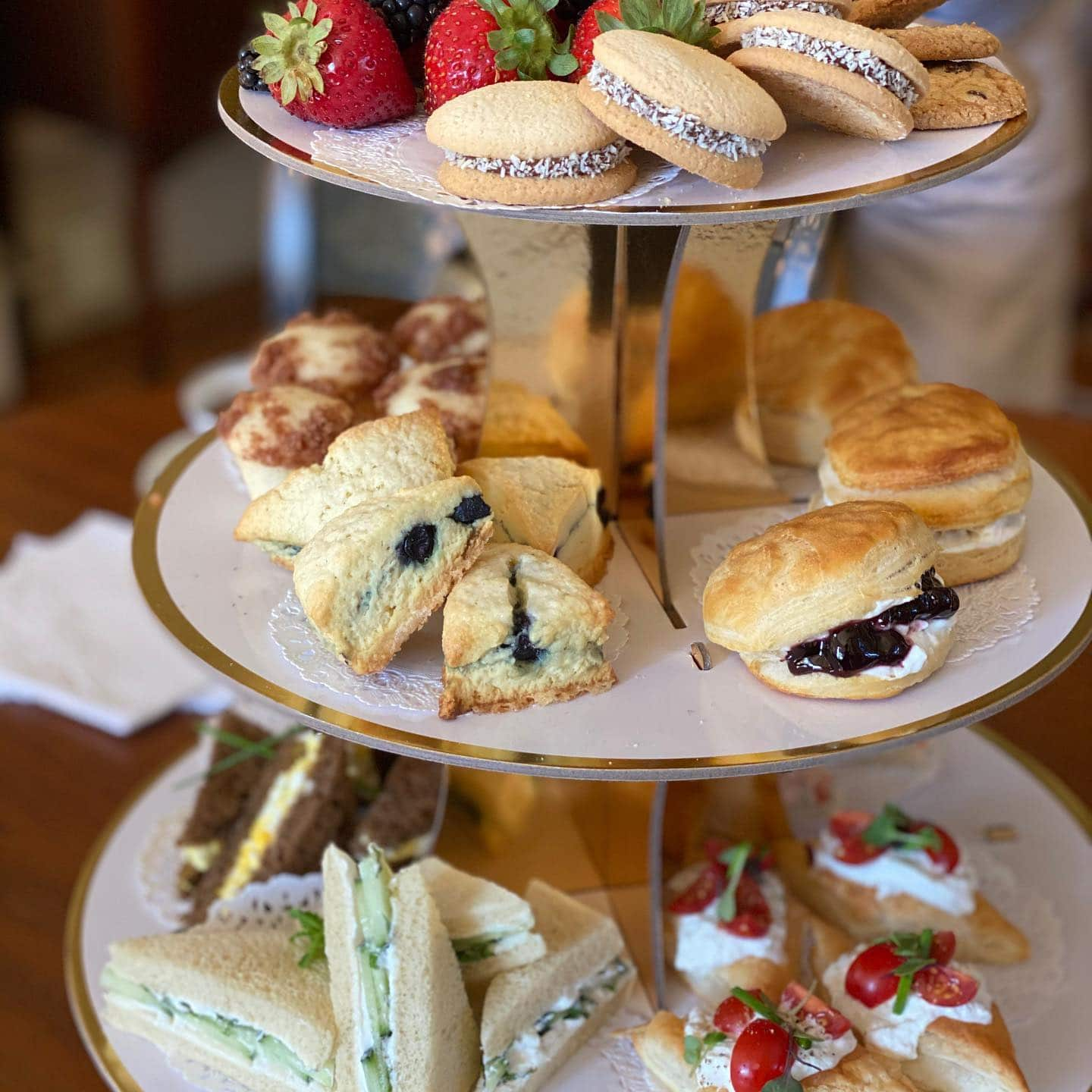 Holiday Tea and Treats at Camellia Inn