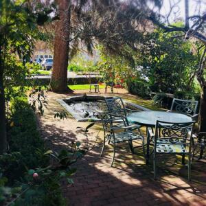Camellia Inn pond