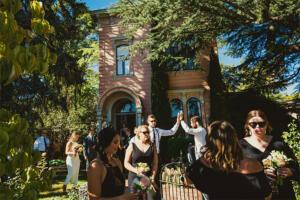 Healdsburg CA Wedding Venues Camellia Inn exterior